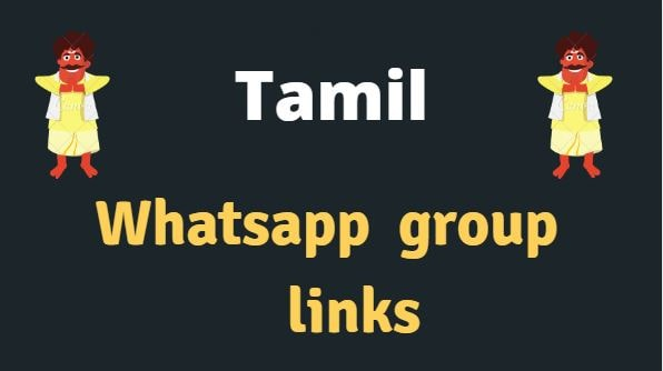 Tamil Whatsapp group 2020 | Lastest group links.