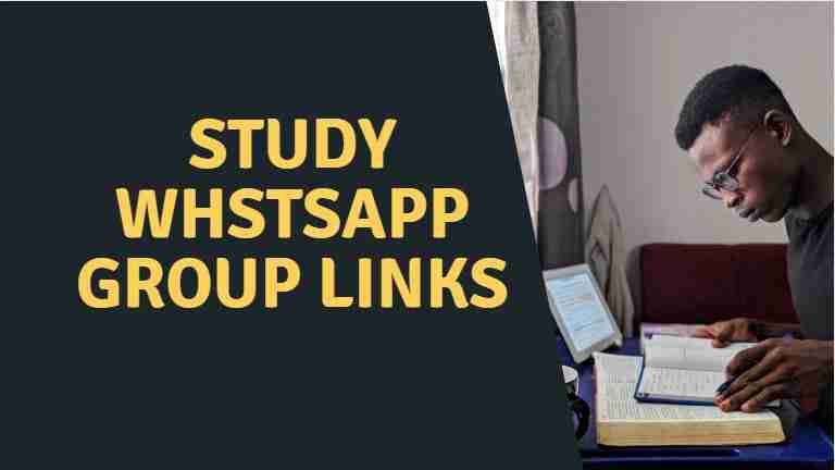 Study Whatsapp group link | Best of 2021